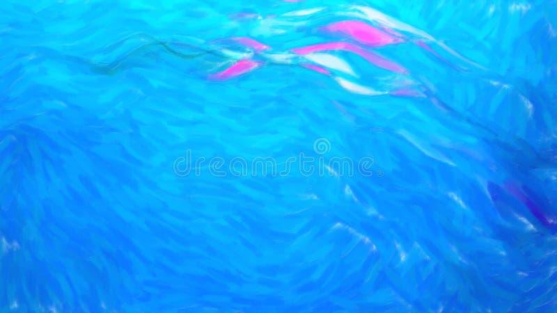 Zusammenfassungs-heller blauer Farben-Beschaffenheits-Hintergrund vektor abbildung