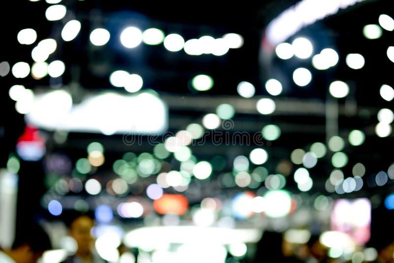 Zusammenfassungs-Hintergrund unscharfe Beleuchtung lizenzfreies stockfoto