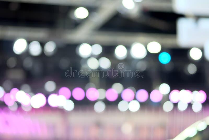 Zusammenfassungs-Hintergrund unscharfe Beleuchtung stockfotografie