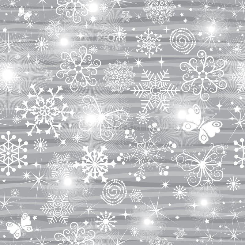 Zusammenfassungs-leichtes gestreiftes Weihnachtsnahtloses Muster stock abbildung