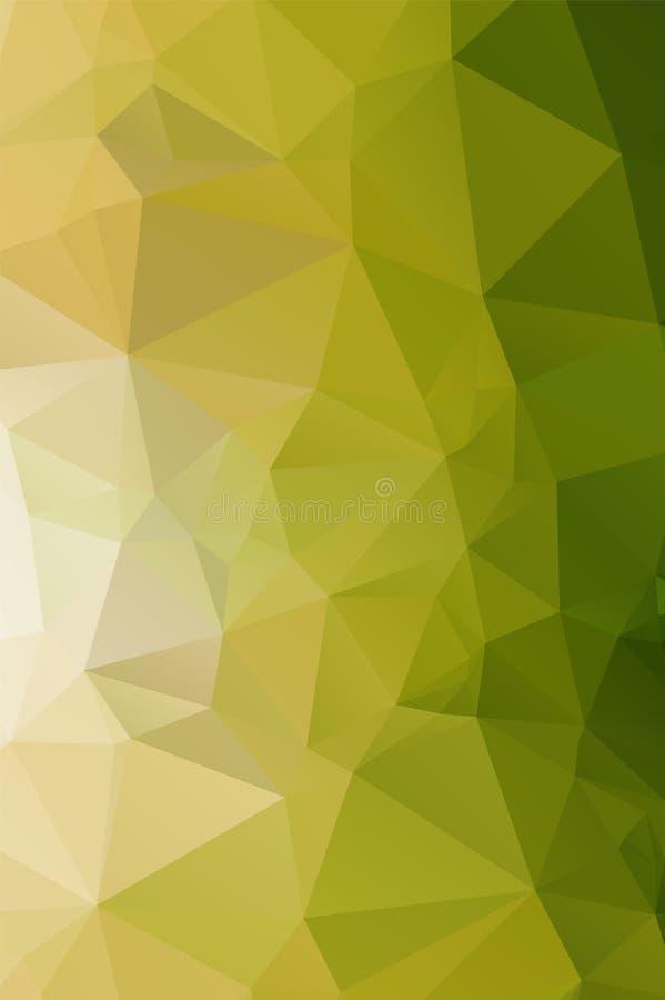 Zusammenfassungs-Niedrig-Polydreieckiger moderner geometrischer Hintergrund Bunte polygonale Mosaik-Muster-Schablone Wiederholen  vektor abbildung
