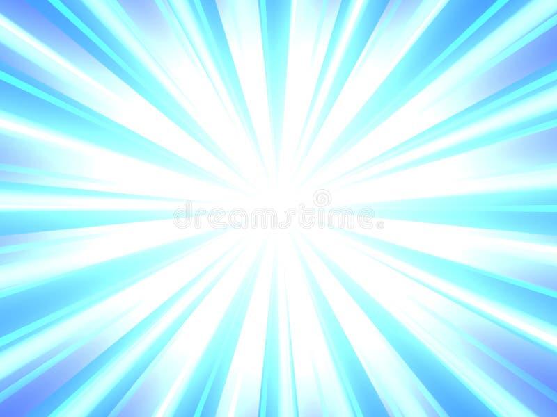 Zusammenfassungsexplosionshintergrund-Blaulichtfarbe vektor abbildung