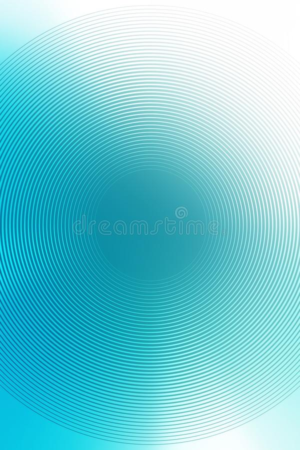 Zusammenfassungssteigungsradialtürkishintergrund Beschaffenheit vektor abbildung