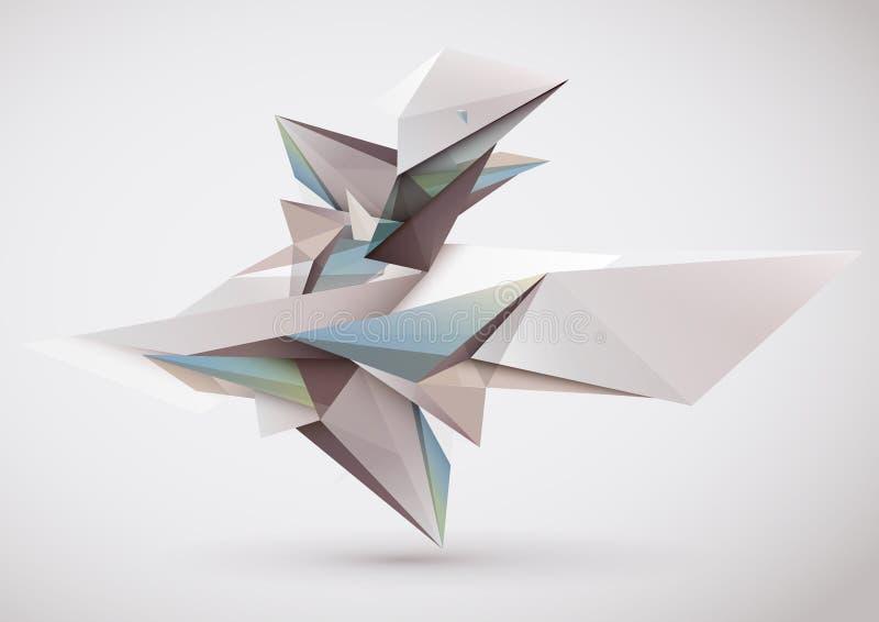 Zusammensetzung 3D lizenzfreie abbildung