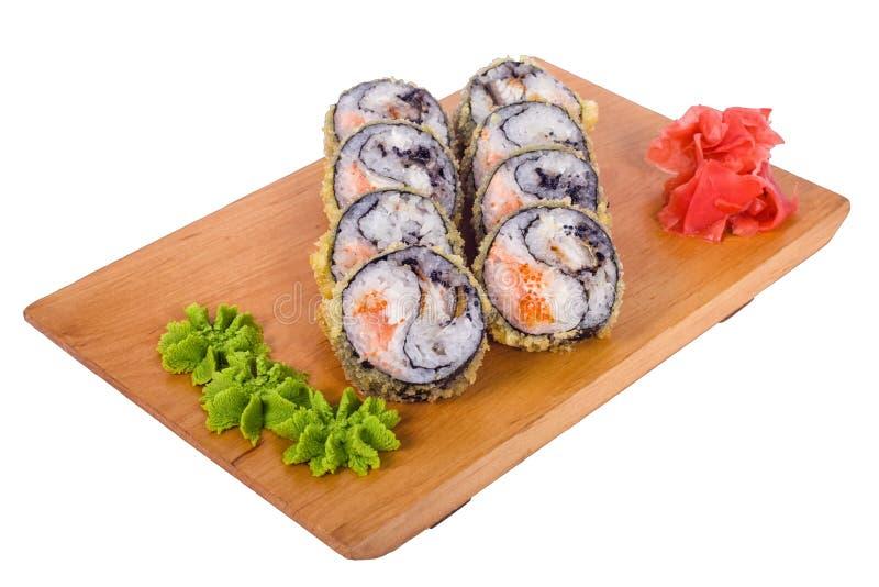 Zusammensetzung von Sushi Yin-Yang lizenzfreies stockfoto