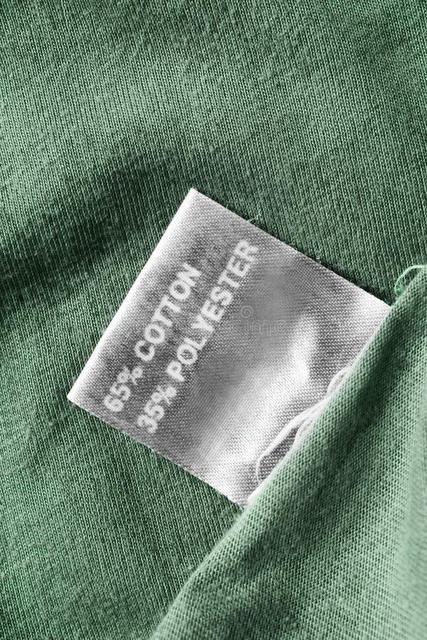 Zusammensetzungskleidungsaufkleber stockfotos