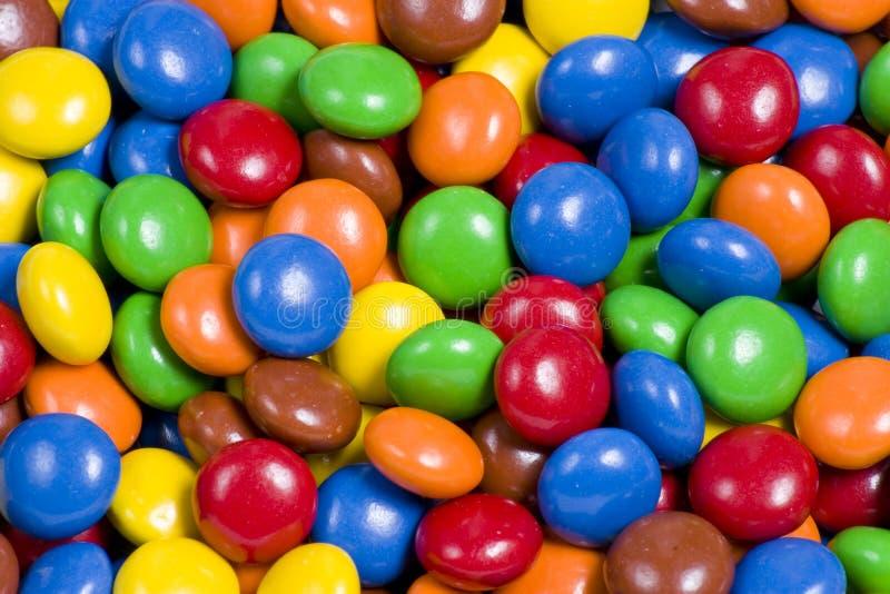 Zusammenstellung der bunten Süßigkeiten lizenzfreie stockfotos