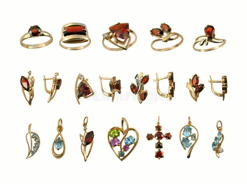 Zusammenstellung des Juwels stockbild
