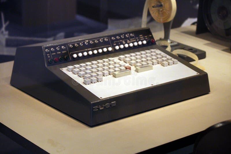 Zuse计算机 库存图片