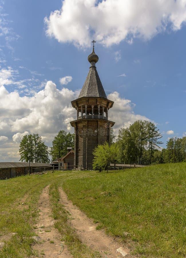 Zustand des Theologe ?- ethnopark in Vsevolozhsk-Bezirk von Leningrad-Region, stockfotografie