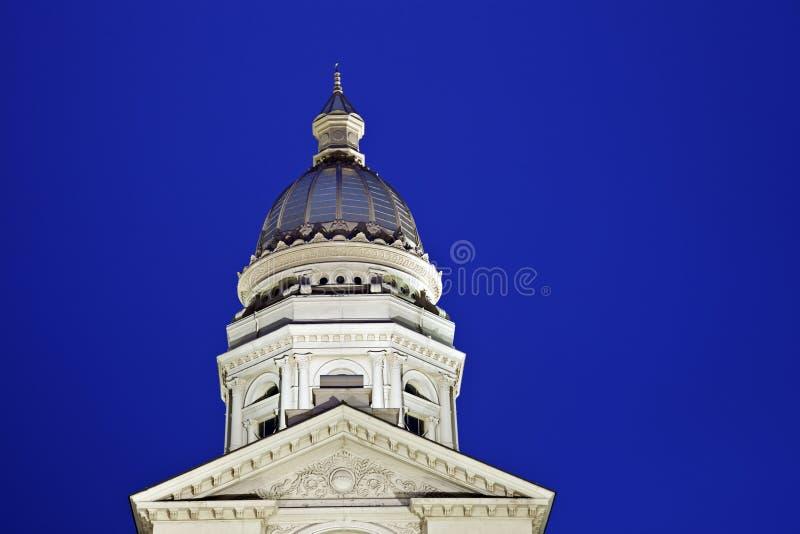 Zustand-Kapitol-Gebäude in Cheyenne, Wyoming lizenzfreies stockbild