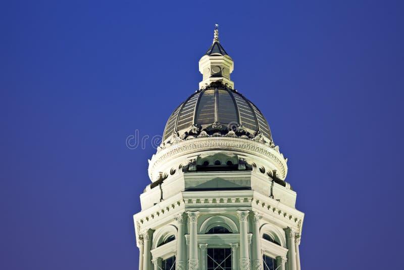 Zustand-Kapitol-Gebäude in Cheyenne, Wyoming lizenzfreies stockfoto