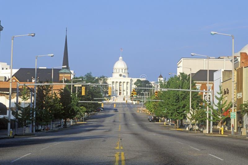 Zustand-Kapitol von Alabama lizenzfreie stockbilder