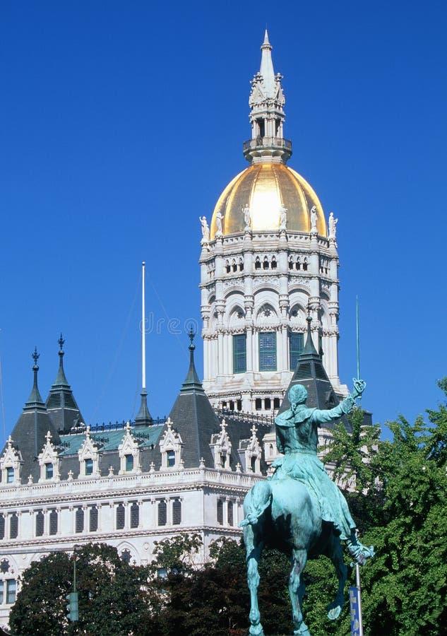 Zustand-Kapitol von Connecticut, stockfoto