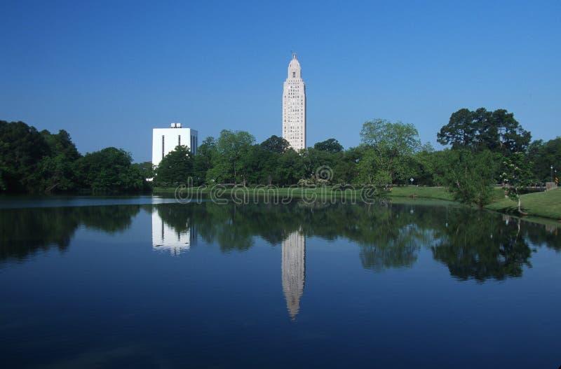 Zustand-Kapitol von Louisiana lizenzfreie stockfotografie