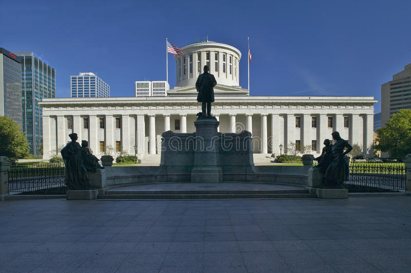 Zustand-Kapitol von Ohio, lizenzfreie stockbilder