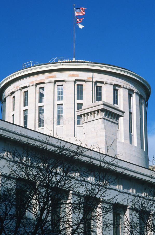 Zustand-Kapitol von Ohio lizenzfreies stockfoto