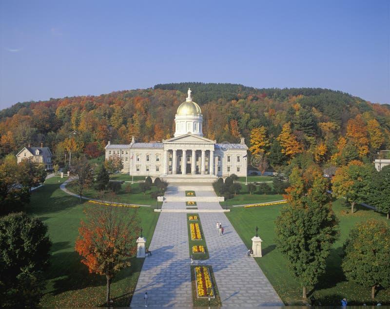 Zustand-Kapitol von Vermont lizenzfreie stockbilder