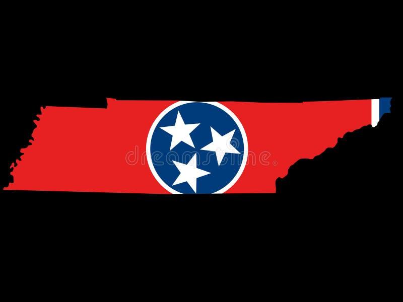 Zustand von Tennessee vektor abbildung