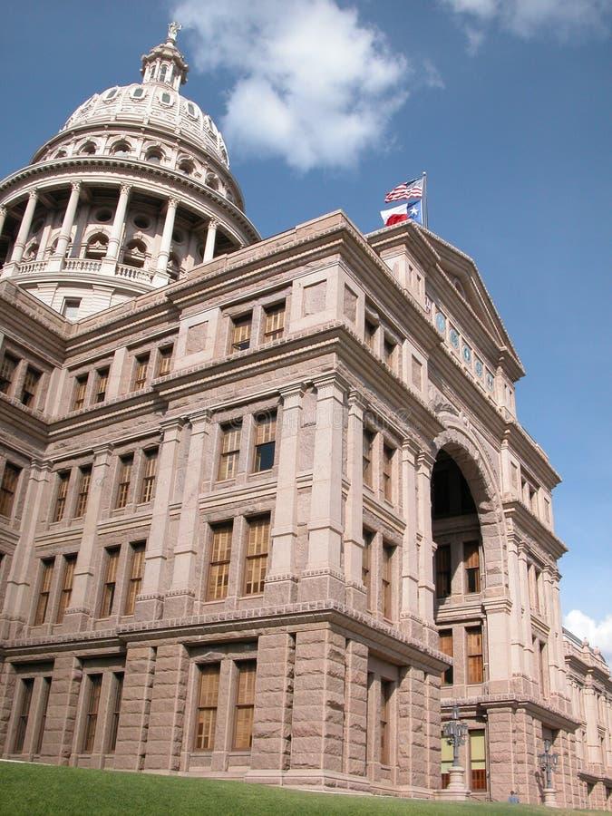 Zustand von Texas Capitol stockbilder
