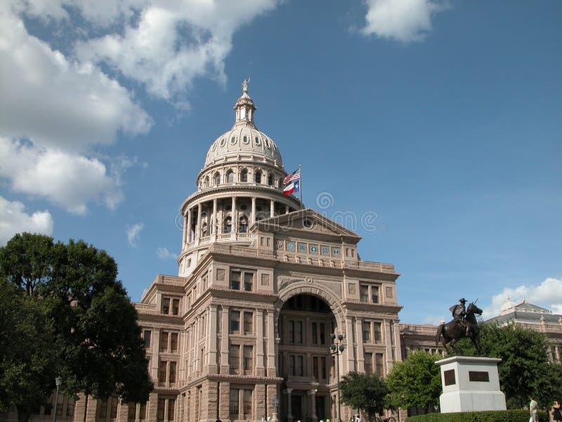 Zustand von Texas Capitol stockfotos