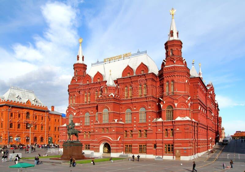 Zustands-historisches Museum in Moskau stockfotos
