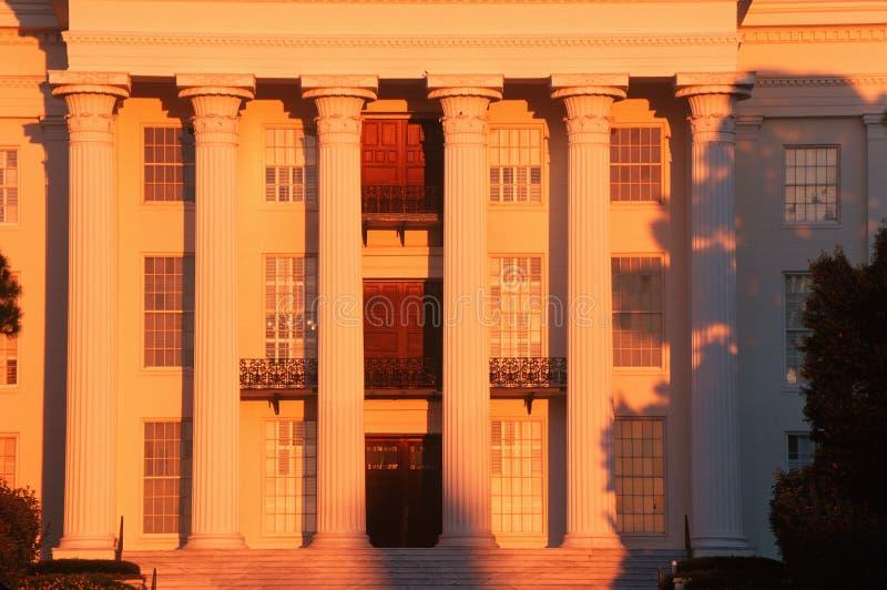 Zustands-Kapitol von Alabama, Montgomery lizenzfreie stockbilder