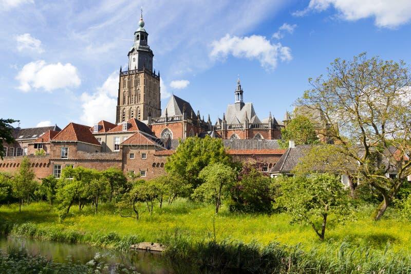 Zutphen - The Netherlands royalty free stock photography