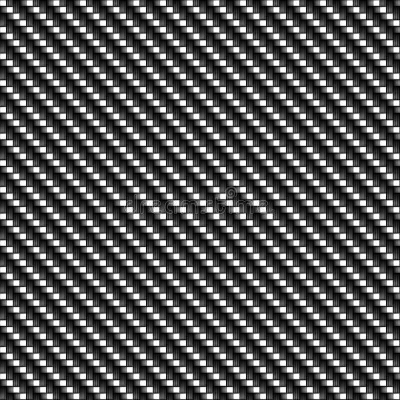 Zutreffende Kohlenstoff-Faser stock abbildung