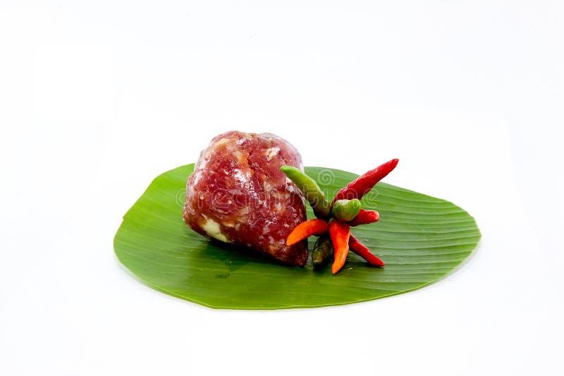 Zuur varkensvlees royalty-vrije stock afbeelding