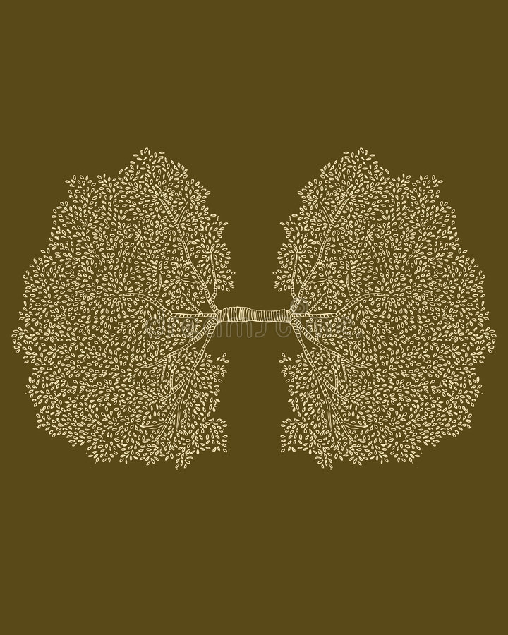 Zuurstof royalty-vrije illustratie