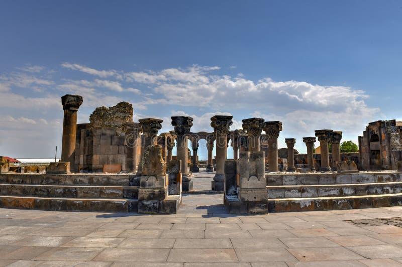 Zvarnots - Armenië stock afbeeldingen