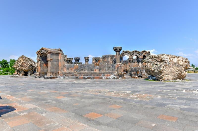 Zvarnots - Armenië royalty-vrije stock afbeeldingen