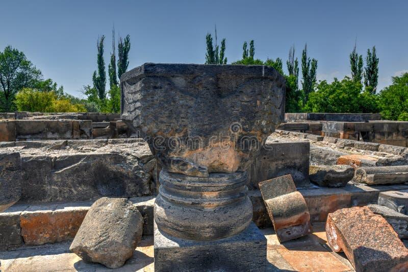 Zvarnots - Armenië stock fotografie