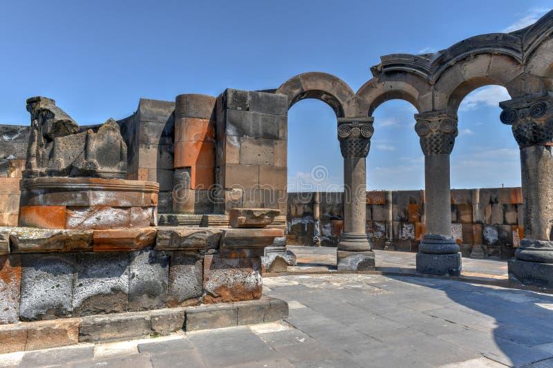 Zvarnots - Armenië stock foto's