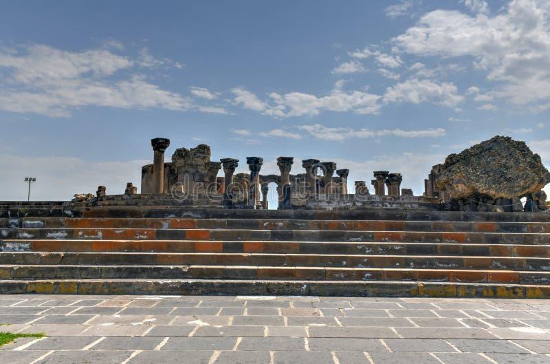 Zvarnots - Armenië royalty-vrije stock foto's