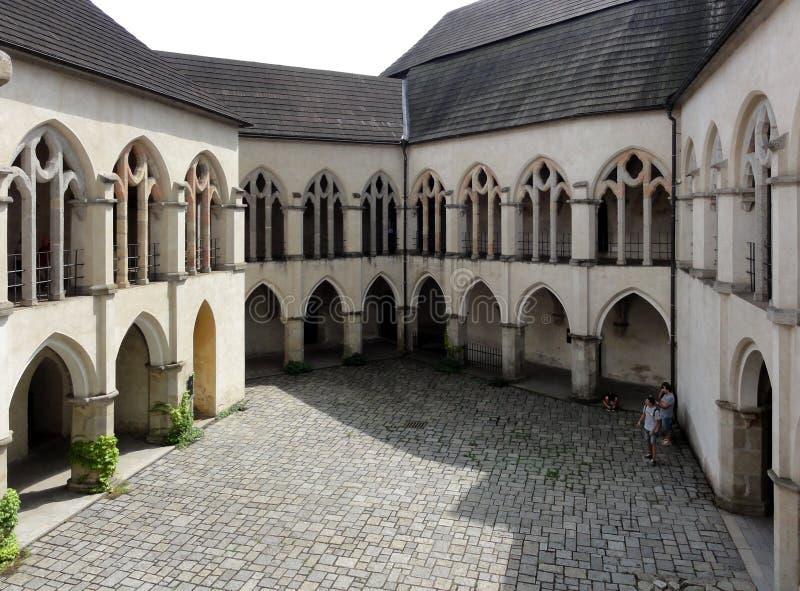 Zvikov-Schloss-Tschechische Republik stockfotos