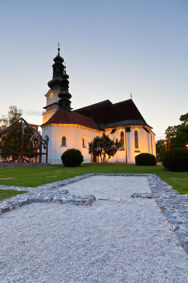 Zvolen, Словакия стоковая фотография rf