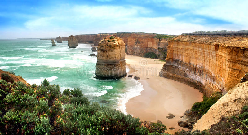 Zwölf Apostel, Australien stockbilder