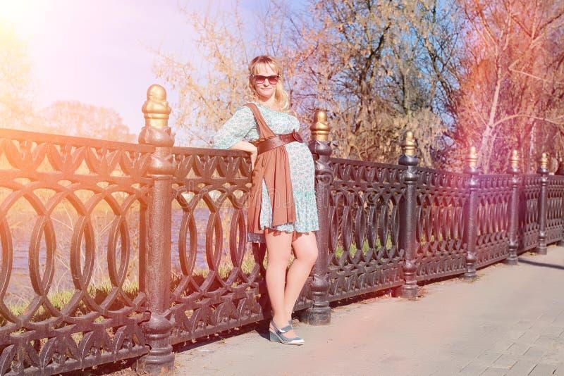 Download Zwanger Meisje Op Een Gang In Het Park Meisje Met Een Buik In Ci Stock Foto - Afbeelding bestaande uit concept, gezond: 107708760