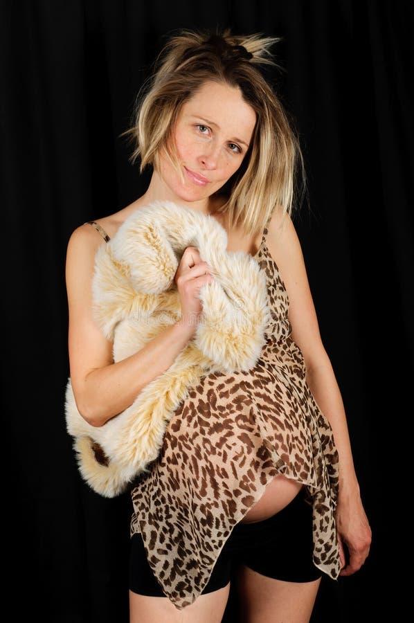Zwangere womang stock afbeelding
