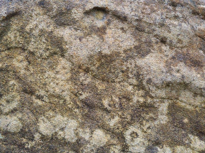 Zware geërodeerd en geperste zandsteen stock foto