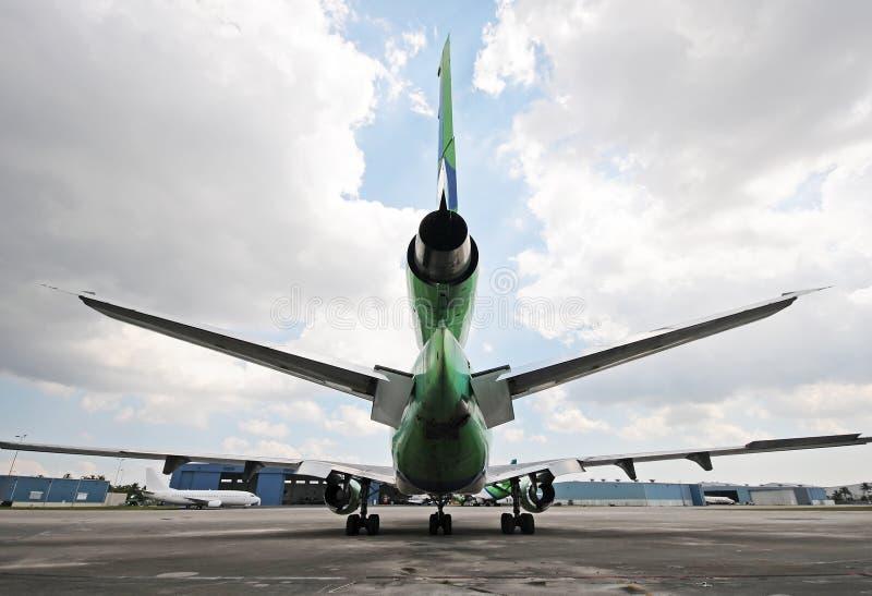Zware jet royalty-vrije stock afbeeldingen
