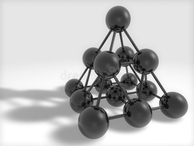 Zwart vector illustratie