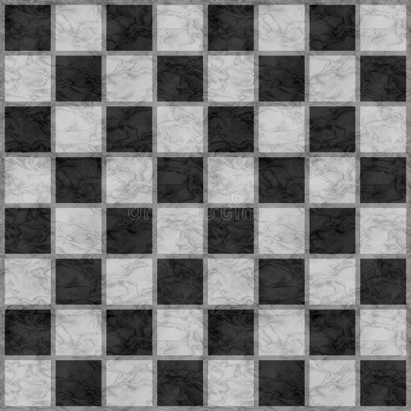 Zwart & Wit Schaakbord stock afbeeldingen