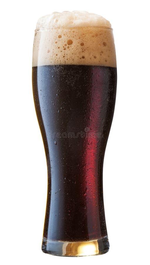 Zwart bier stock fotografie