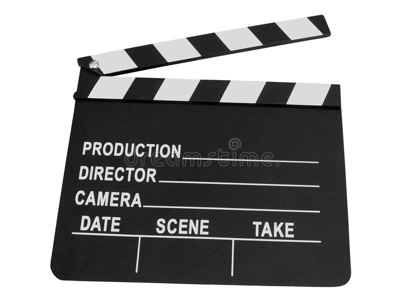 Zwart cameraframe geïsoleerdv teken, stock afbeelding