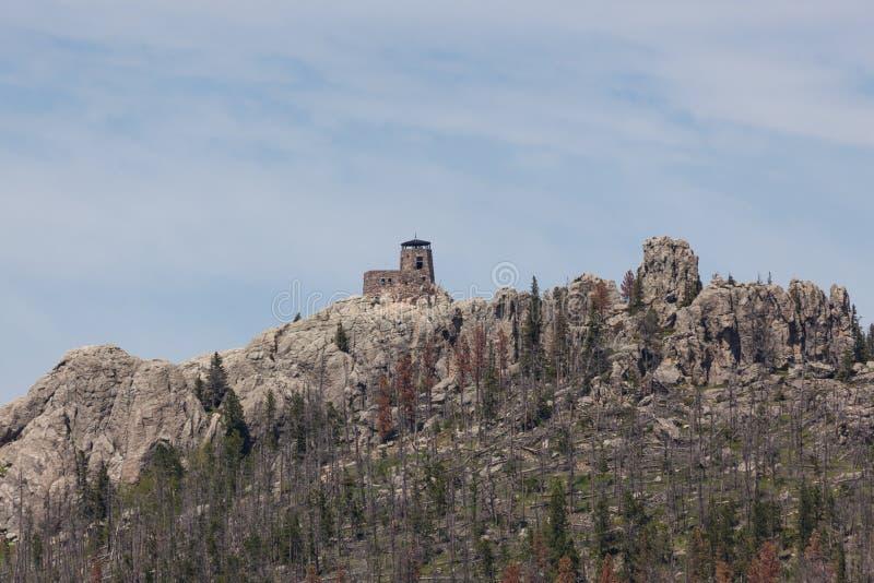 Zwart Elanden Piek Zuid-Dakota stock foto