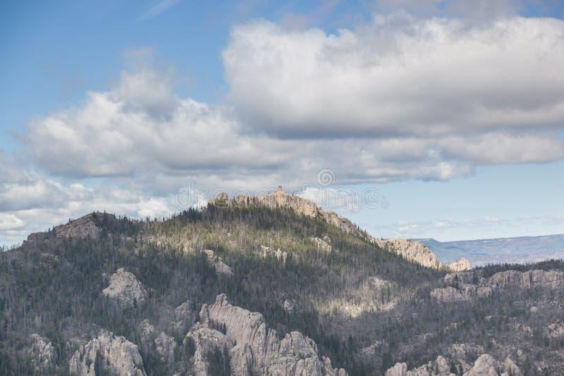 Zwart Elanden Piek Zuid-Dakota royalty-vrije stock afbeeldingen
