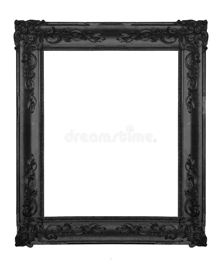 Zwart frame stock foto
